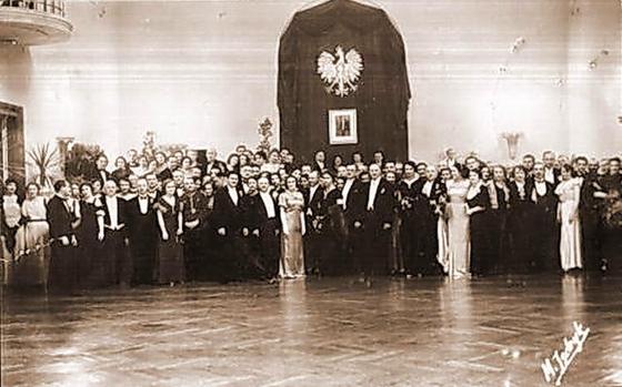 Бал у Станиславові 13січня 1934 року. Фото М. Єндрика