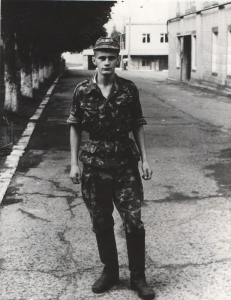1998 рік. Михайло на строковій службі