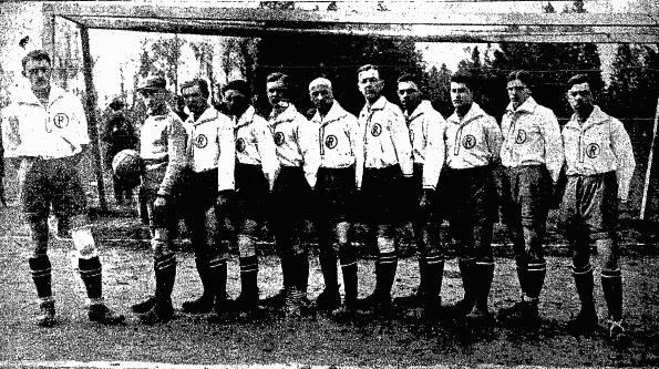 Команда «Ревери» (Станиславів) у 1922 році