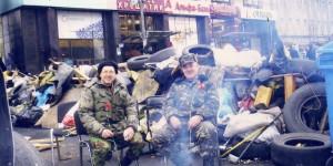 Дмитро Улащук на Майдані