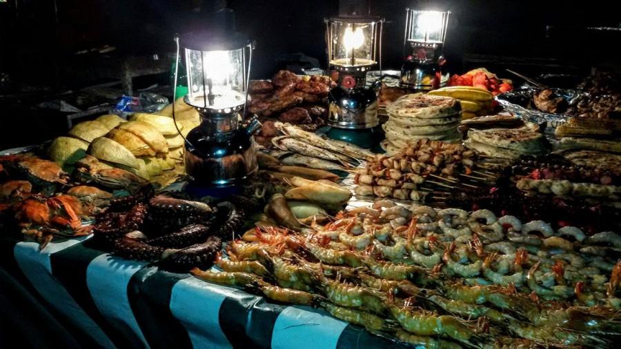 ринок з морепродуктами у Занзібарі