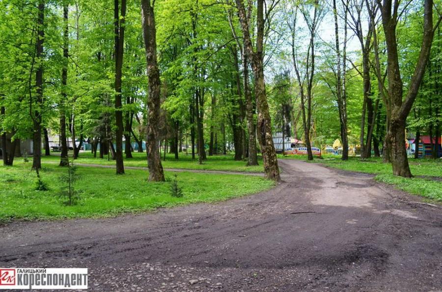 привид в парку