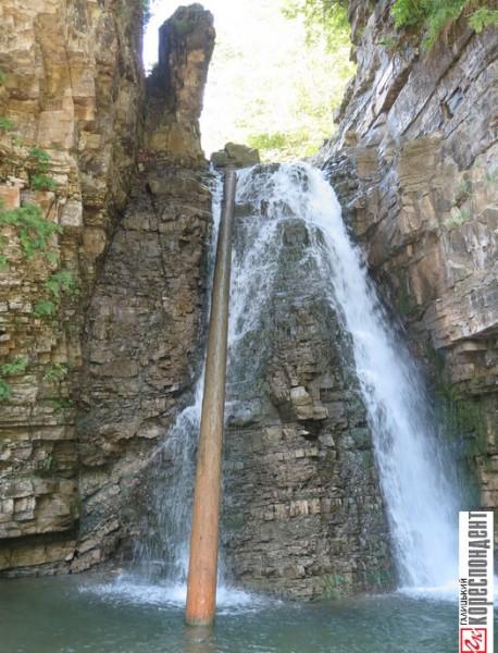 бухтівецький водоспад