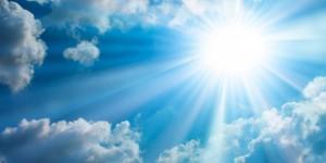 сонце хмарки