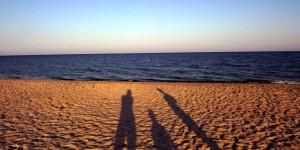 Дуже люблю море на заході сонця