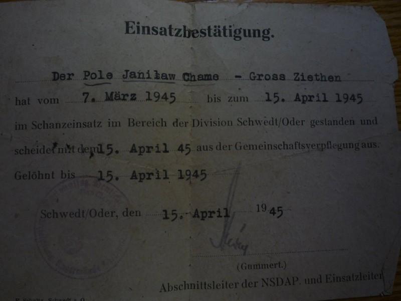Німецькі документи Я.Харуна