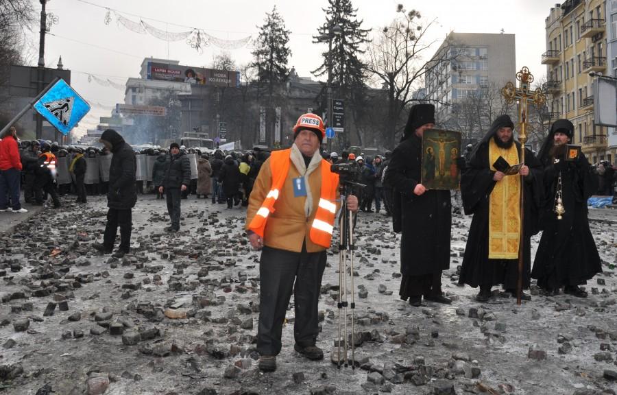Автор світлин, учасник Майдану