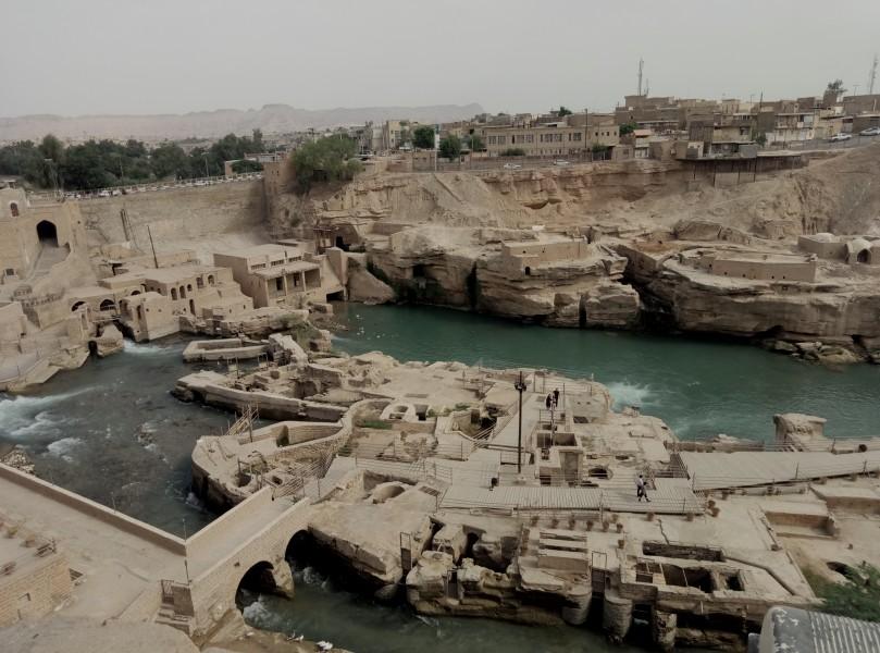Система античного водопостачання. Місто Шуштар, провінція Хузестан (на кордоні з Іраком)