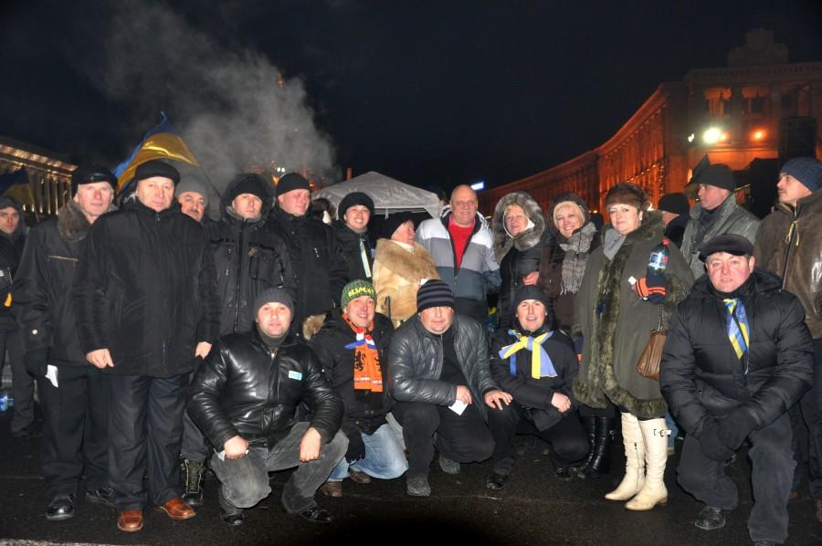 Теплі зустрічі на Майдані