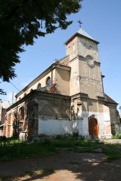 Давній єзуїтський костел в Єзуполі