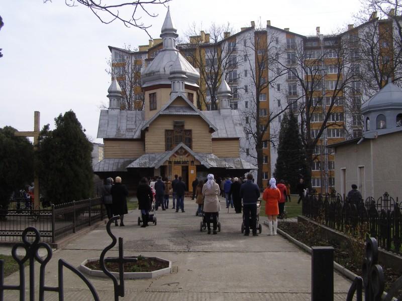 Церква Святого Дмитрія у Пасічній