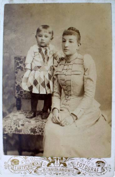 Галичина, 1920-ті рр. Міщанка із своїм сином