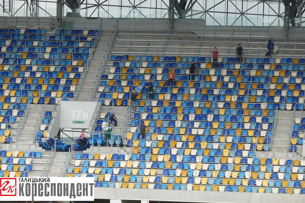 «Арені Львів» повернули орендовані для Євробачення крісла