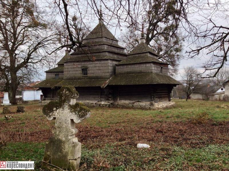 черче. церква святої параскеви