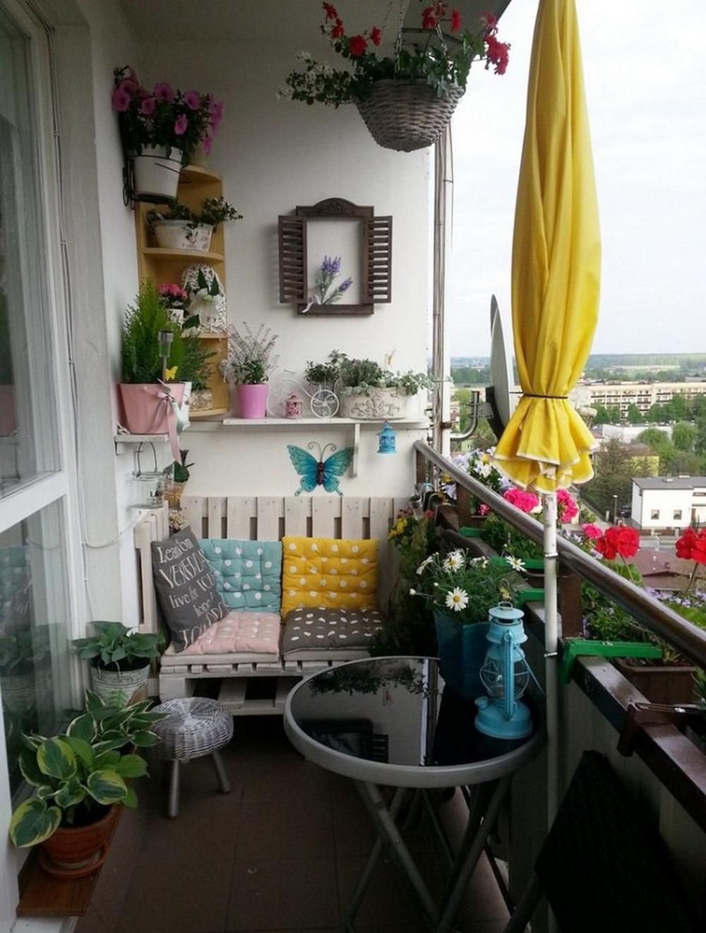 Маленький балкон как место для релакса: 27 крутых идей шальн.