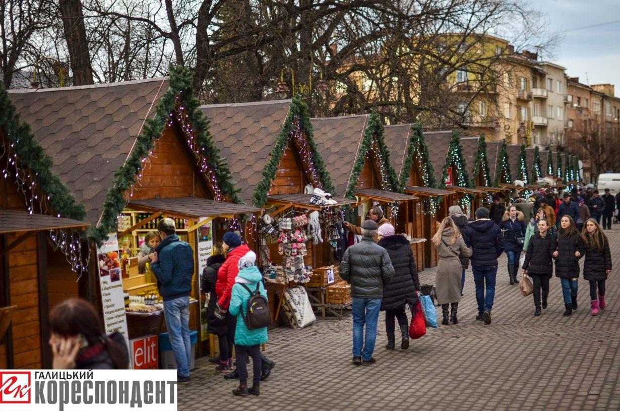 У Франківську запрацював різдвяний ярмарок. ФОТО, фото-2