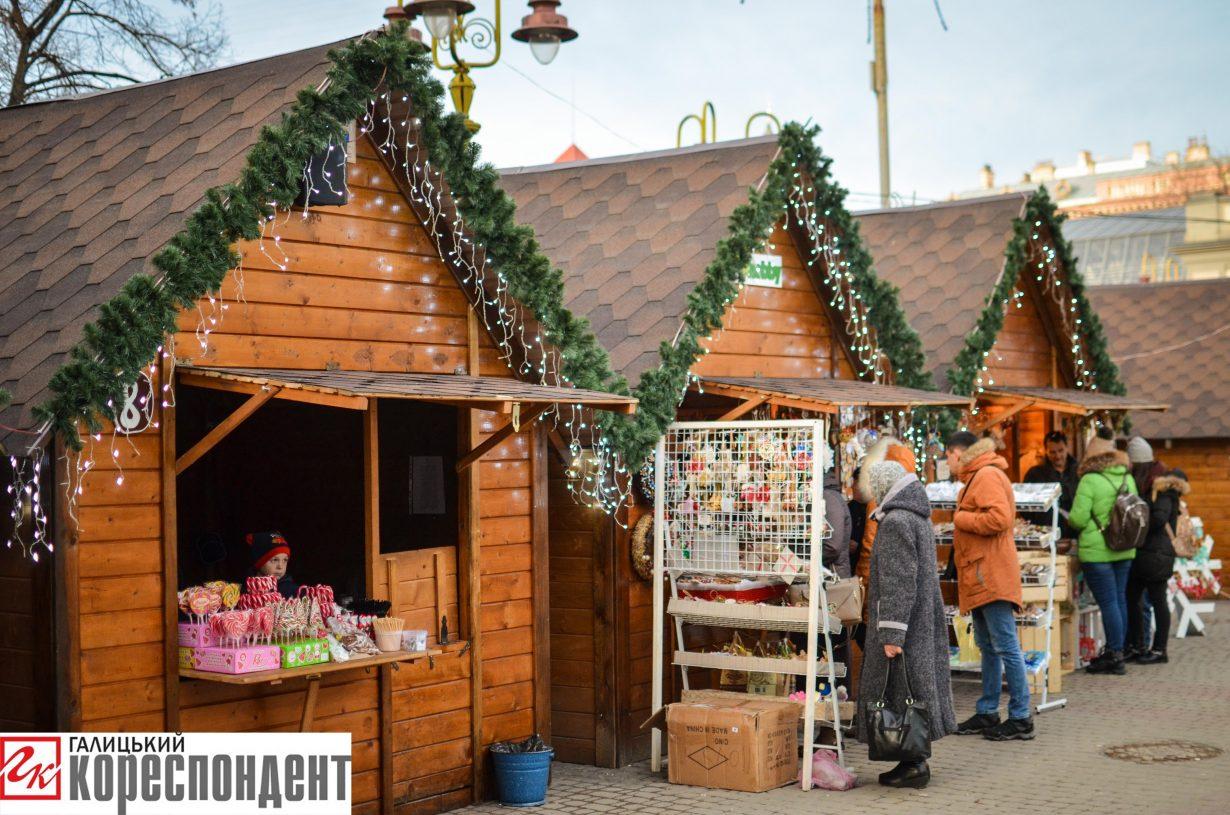 У Франківську запрацював різдвяний ярмарок. ФОТО, фото-3