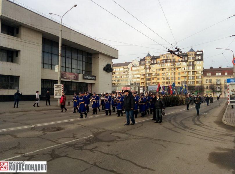УЛьвові відбувся мітинг знагоди річниці народження Бандери