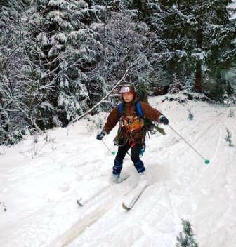 На Верховинщині пройшов чемпіонат із лижного туризму