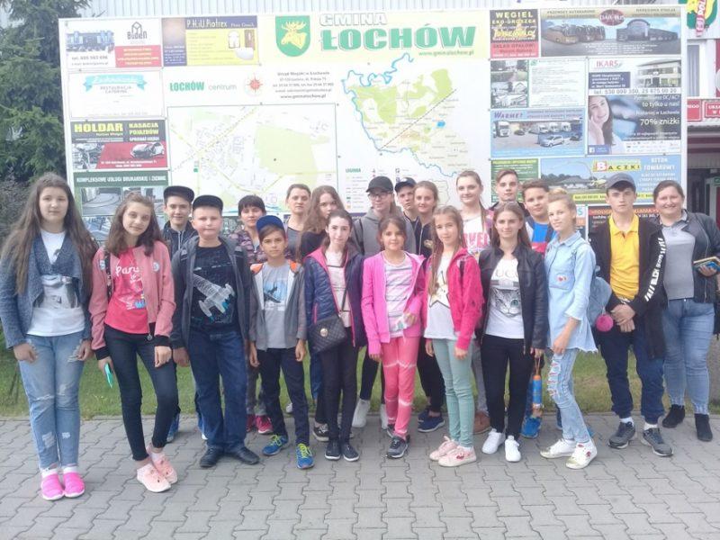 Школярі з Прикарпаття відпочивали в Польщі