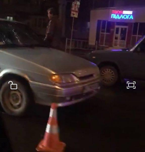 ДТП у Франківську: жінка потрапила під колеса легковика (фотофакт)