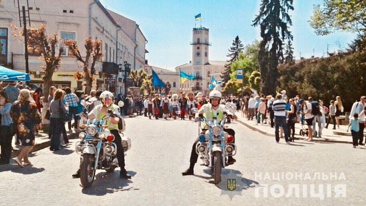 Поліцейські забезпечили охорону публічного порядку під час святкування дня міста Коломиї
