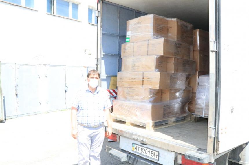 Намети та спальні мішки: Франківщина отримала гуманітарну допомогу від Ізраїлю
